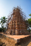 Construction of Pagoda in north of thailand. Construction of Pagoda in Phayao north of thailand Stock Image