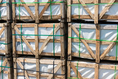 Construction Pallets Stock Images