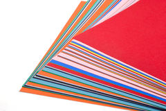 Construction paper Stock Image