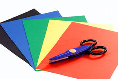 Construction paper royalty free stock photography