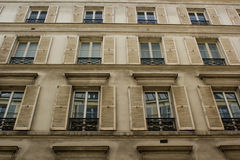 Construction parisienne type Photos stock