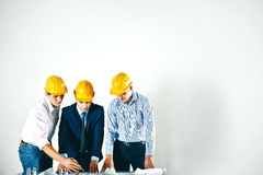 Construction partners Stock Image