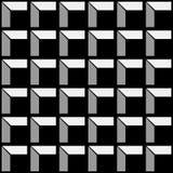 Construction pattern black royalty free illustration