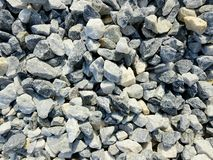 Construction pebbles background. Stones for construction. royalty free stock photos