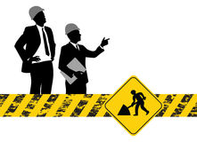 Construction people Royalty Free Stock Images