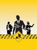 Construction people Royalty Free Stock Photo