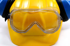 Construction personal protecting equipment Royalty Free Stock Image
