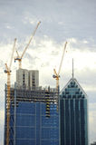 Construction Perth CBD Royalty Free Stock Images