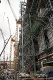 Construction of petrochemical plant. Tobolsk Stock Photo