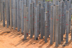 Construction Piling Series 2 Royalty Free Stock Photos