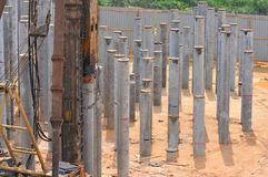 Construction Piling Series 5 Royalty Free Stock Photography