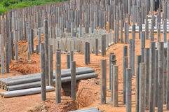 Construction Piling Series 6 Stock Photos