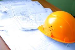 Construction plan Stock Image