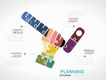 Construction planning Stock Images