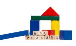 Construction planning Stock Photos