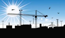 Construction plant. Stock Photo