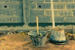 Construction Plaster Tool Stock Image