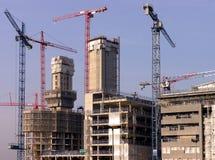 Construction portuaire Images libres de droits