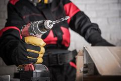Construction Power Tools Royalty Free Stock Photography