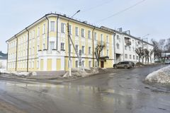 Its Central part from Molochnaya mountain to Pyatnitskaya street was formed in the XIII century. Construction of the present street began, presumably, in the Royalty Free Stock Photography