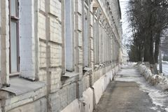 Its Central part from Molochnaya mountain to Pyatnitskaya street was formed in the XIII century. Construction of the present street began, presumably, in the Stock Photography