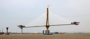 Construction process of  Bridge Stock Photography