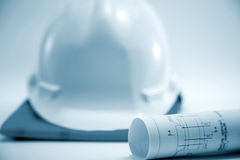 Construction project concept Stock Image