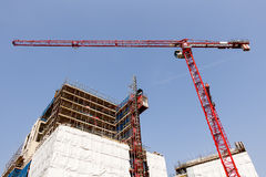 Construction Project Royalty Free Stock Images