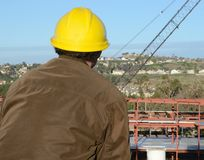 Construction Project Manager Stock Photo