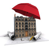 Construction project protection Royalty Free Stock Photography