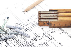 Construction project Stock Images
