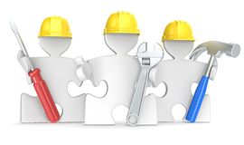 Construction. Royalty Free Stock Photo
