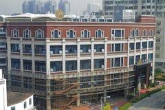 Construction of quanji ( all seasons ) hotel Royalty Free Stock Photos