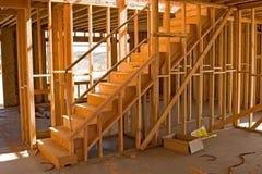 Construction résidentielle photo stock