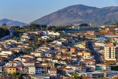 Construction résidentielle populaire, Brésil image libre de droits