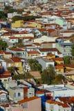 Construction résidentielle populaire, Brésil photographie stock libre de droits