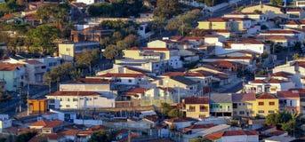 Construction résidentielle populaire, Brésil photo libre de droits