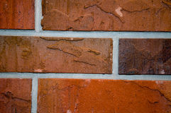Construction red bricks Stock Images