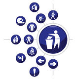 Construction related icon Stock Photo