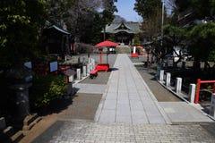 Japanese shrine precincts. The construction of religion / Japanese shrine royalty free stock images