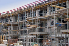construction renforcement haut Images stock