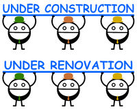 Construction and renovation Stock Image