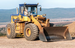 Construction and repair of roads and highways Royalty Free Stock Photography