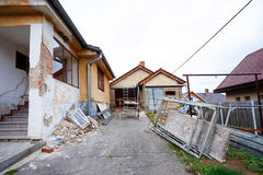 Construction or repair of the rural house Stock Images