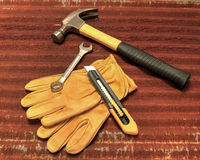 Construction and Repair Tools of the Trade stock image
