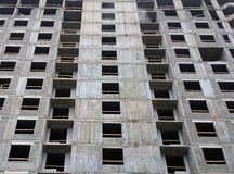 Construction of a residential apartment monolithic house under construction floors Royalty Free Stock Images