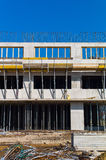Construction of a residential building Royalty Free Stock Photos