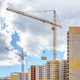 Construction residential building Royalty Free Stock Photos