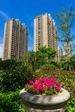 Residential area in Chinese cities Royalty Free Stock Image
