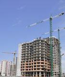 Construction. Residential community Stock Photo